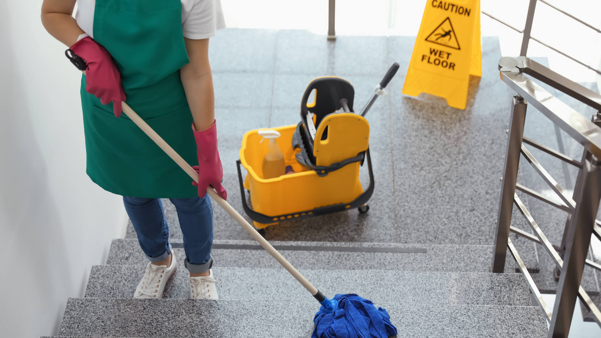 government building cleaning services
