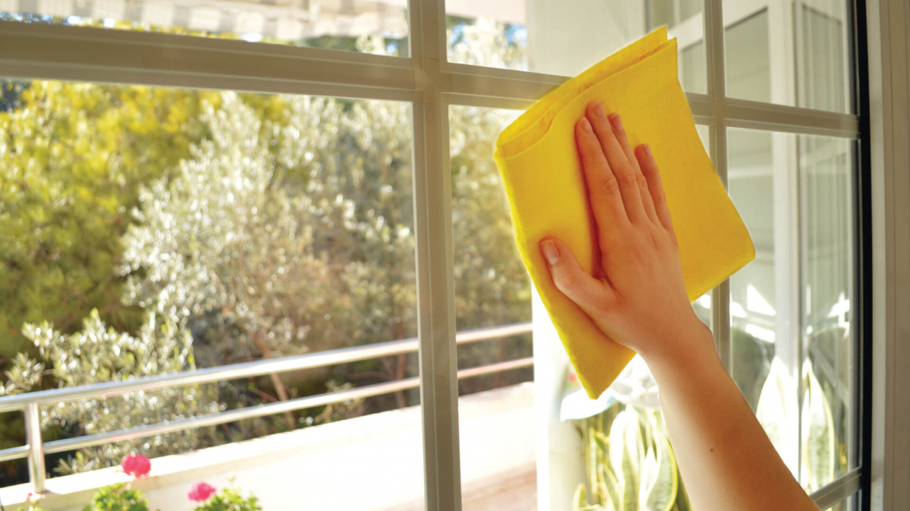 how to clean windows